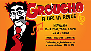 Groucho a life in revue