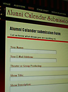 Alumni Submission Form