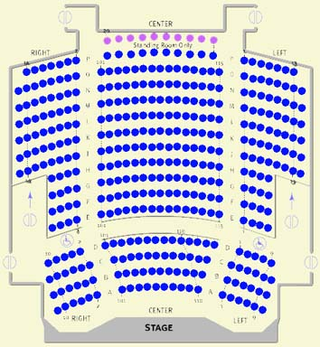 Kelsey Theatre Seating Chart